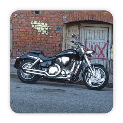 Костер (подставка под кружку) Мотоцикл