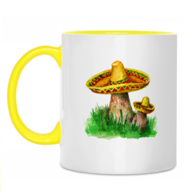 Кружка 'Веселые грибы'
