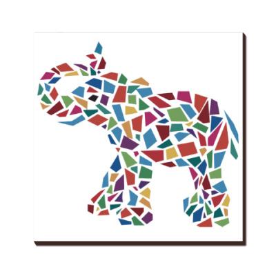 Слон - мозаика