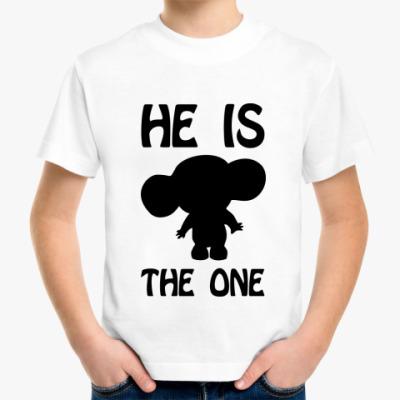 Детская футболка He is the One