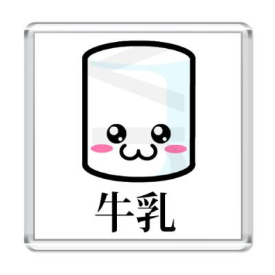 Магнит  Chibi Milk