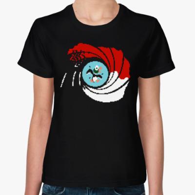 Женская футболка Охота на уток