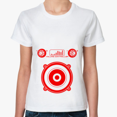 Классическая футболка VOLUME CONTROLLER
