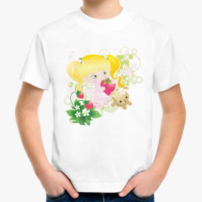 Детская футболка Клубничка