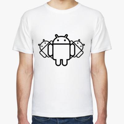 Футболка  Androids