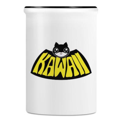 Подставка для ручек и карандашей Kawaii Batman