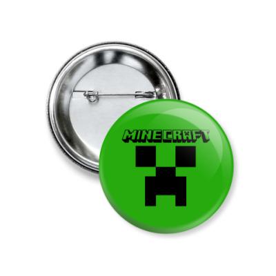 Значок 37мм Minecraft