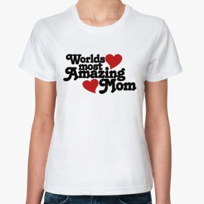 Классическая футболка Лучшая Мама в Мире!