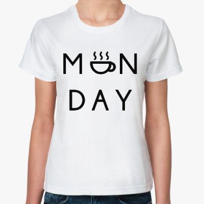 Классическая футболка Понедельник