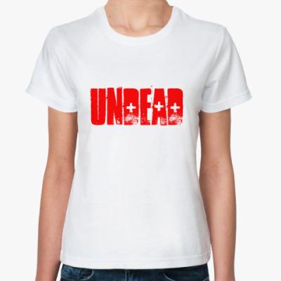 Классическая футболка undead