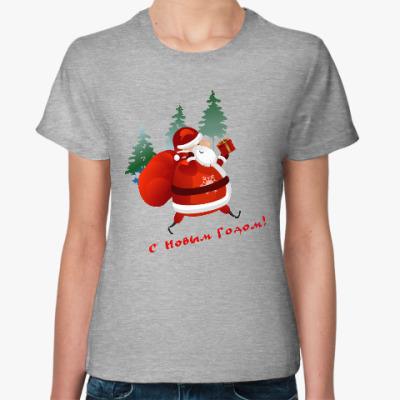 Женская футболка Дед Moroz