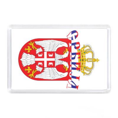 Магнит Малый герб Сербии