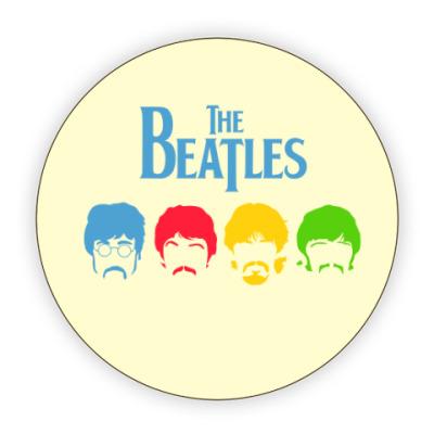 Костер (подставка под кружку) Beatles