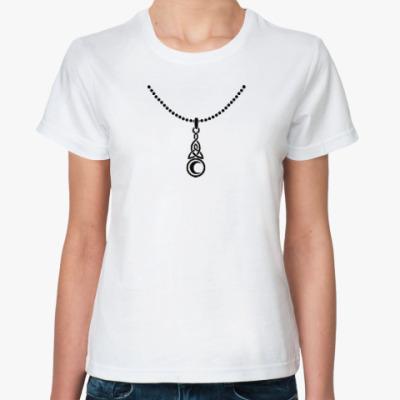 Классическая футболка Кельтский амулет