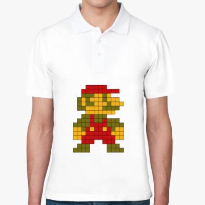 Рубашка поло Марио 8 бит