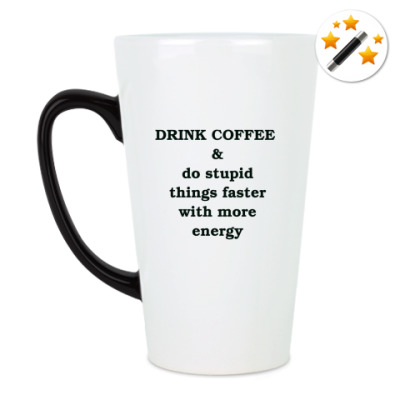 Кружка-хамелеон Drink coffee