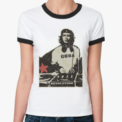 Женская футболка Ringer-T DJ Che
