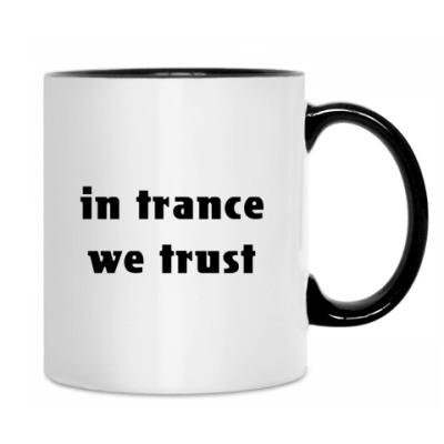Кружка 'in trance'