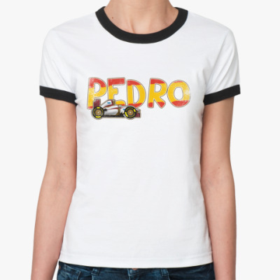 Женская футболка Ringer-T PEDRO