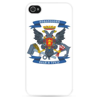 Чехол для iPhone герб Новороссии