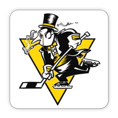 Костер (подставка под кружку) Go Penguins