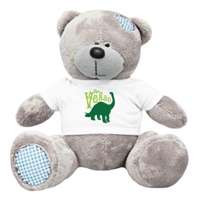 Плюшевый мишка Тедди Go Vegan