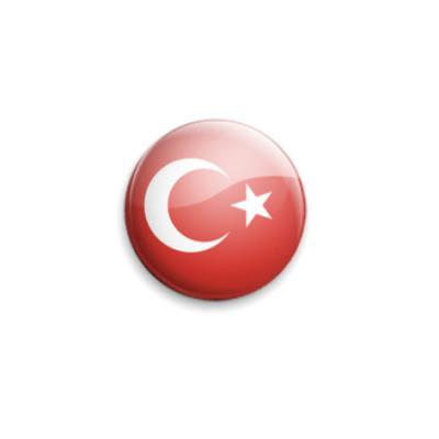 Значок 25мм Turkey