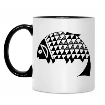 Кружка Рыба mimbres