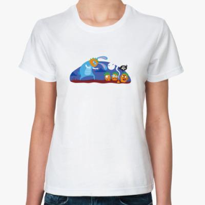 Классическая футболка Ужастек