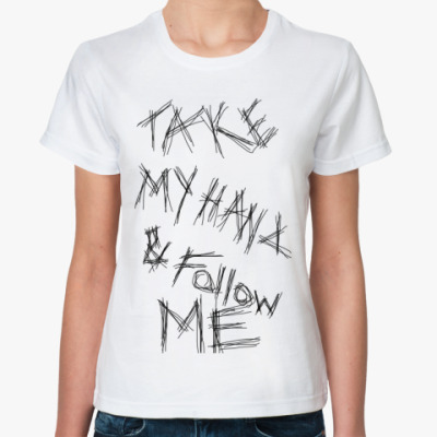 Классическая футболка Follow me