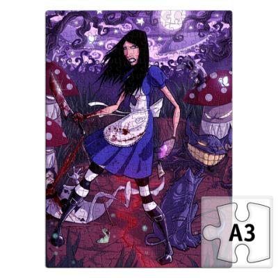 Пазл Алиса в Стране чудес