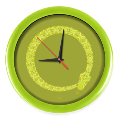 Настенные часы Animal Zen: V is for Viper