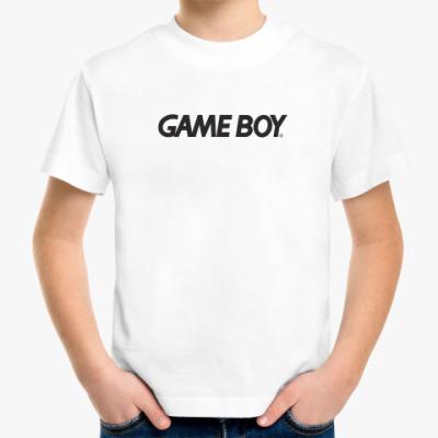 Детская футболка GAME BOY