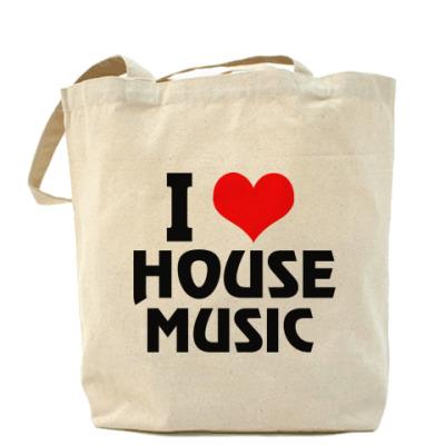 Сумка  - i love house music