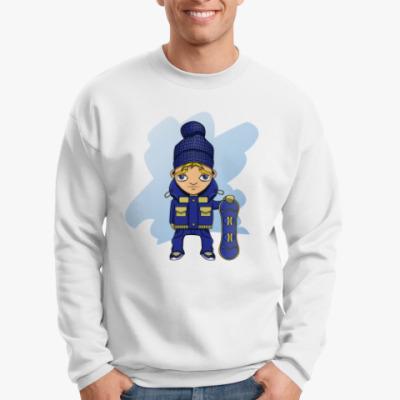 Свитшот Сноубордист
