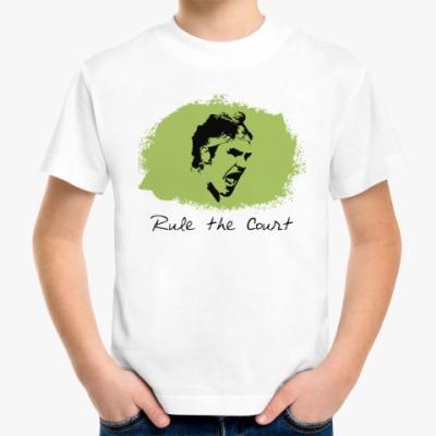 Детская футболка Федерер - Управляй кортом