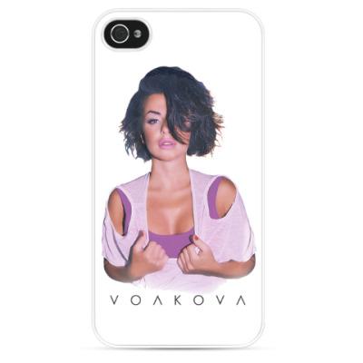 Чехол для iPhone Юля Волкова (iPhone 4/4S)