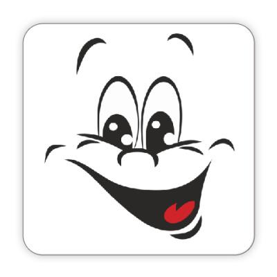 Костер (подставка под кружку) Веселый смайл