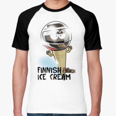 Футболка реглан Finnish Ice Cream