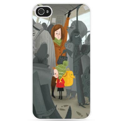 Чехол для iPhone 'Bus'
