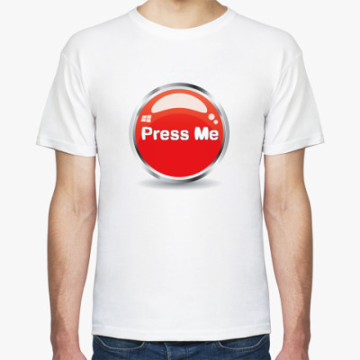 Футболка Press me