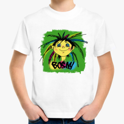 Детская футболка Веселая рожица