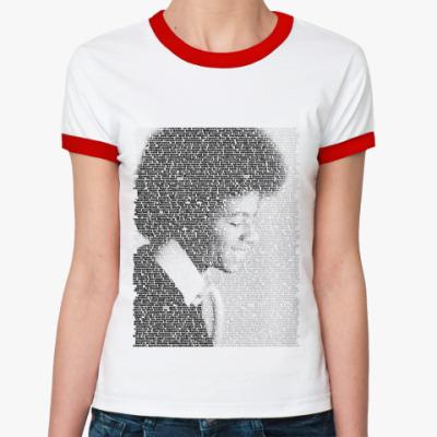 Женская футболка Ringer-T Jackson