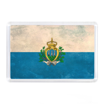 Магнит Сан-Марино, флаг