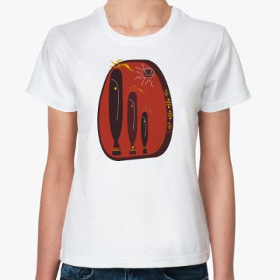 Классическая футболка AFRO IDOL