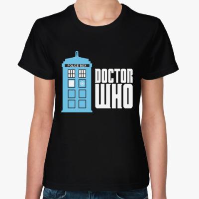 Женская футболка Doctor Who
