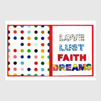 Постер Love Lust Faith + Dreams