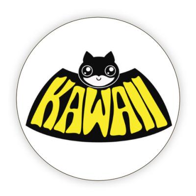 Костер (подставка под кружку) Kawaii Batman
