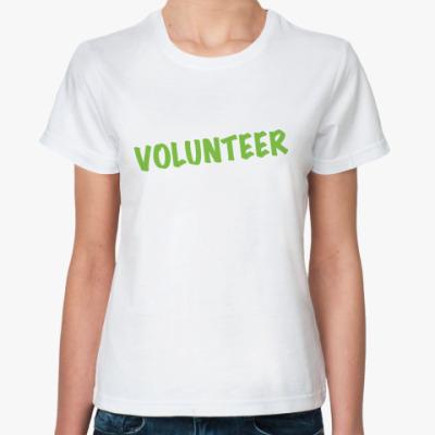 Классическая футболка Volunteer