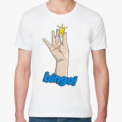Футболка из органик-хлопка Bingo! Зуб